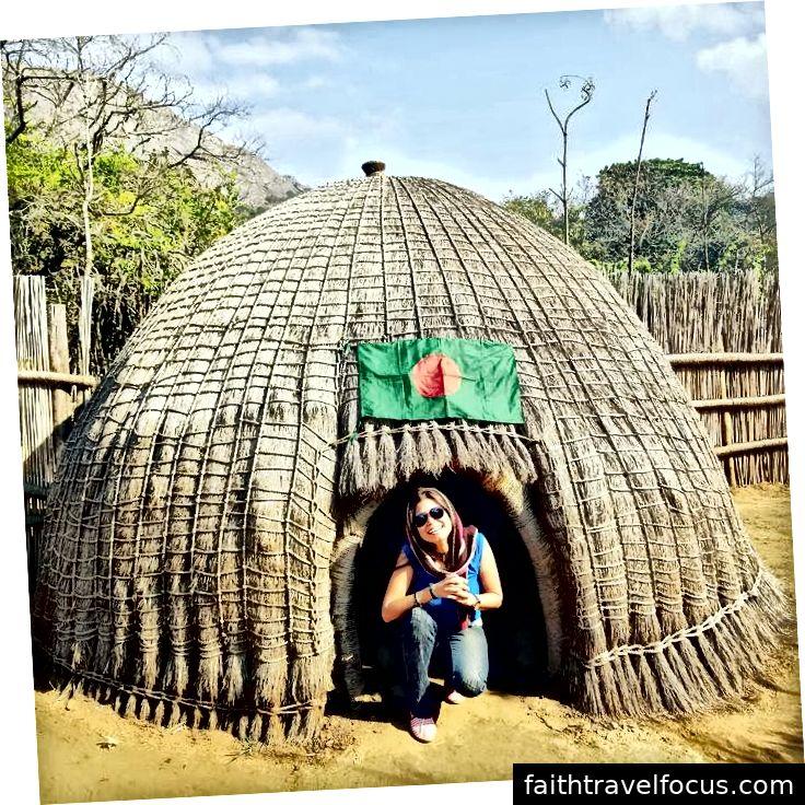 Najmun Nahar Sohagi ở Swaziland.