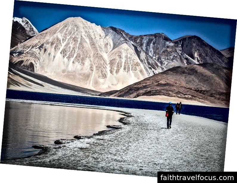 Pangong Tso- Hồ Ladakh