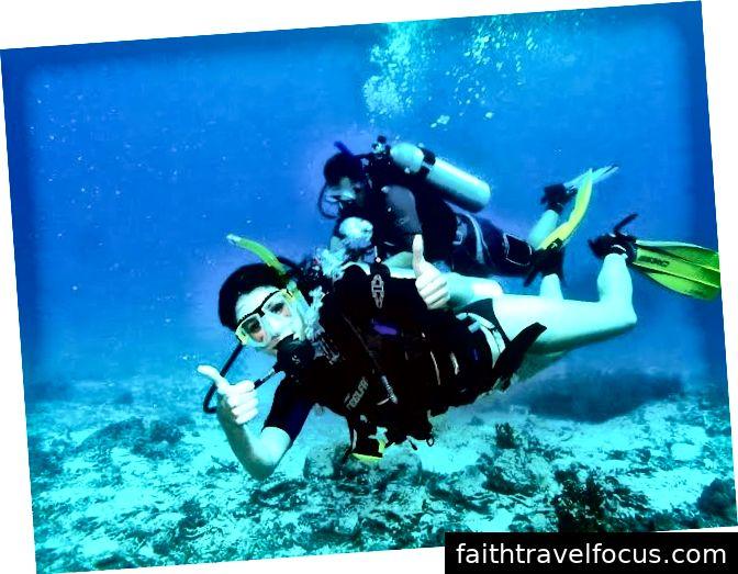 Lặn bằng bình khí ở Goa