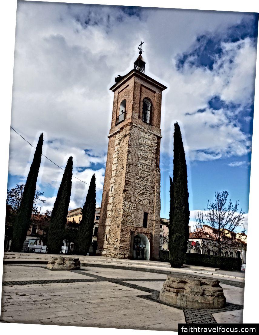 Quang cảnh từ La Torre De Santa Maria, bát nơi Miguel Cervantes được rửa tội và La Torre De Santa Maria