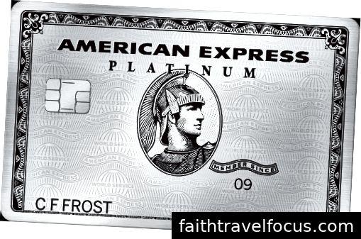 đây là những gì một thẻ bạch kim của người Mỹ trông giống như. khéo léo.