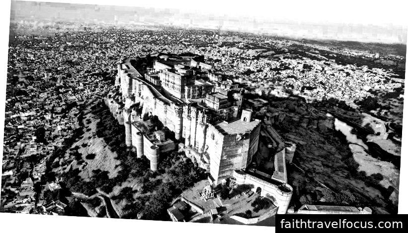Pháo đài Mehrangarh, Jodhpur, Rajasthan: -