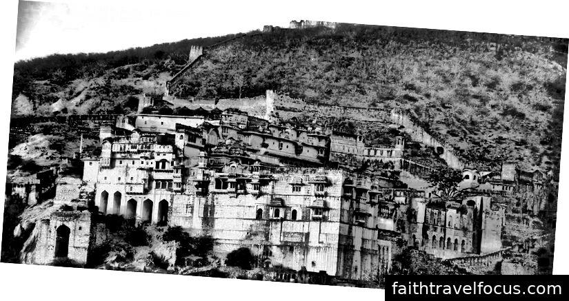 Pháo đài Taragarh - Ajmer, Rajasthan