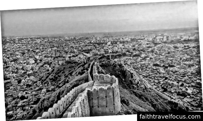 Pháo đài Nahargarh, Jaipur - Rajasthan