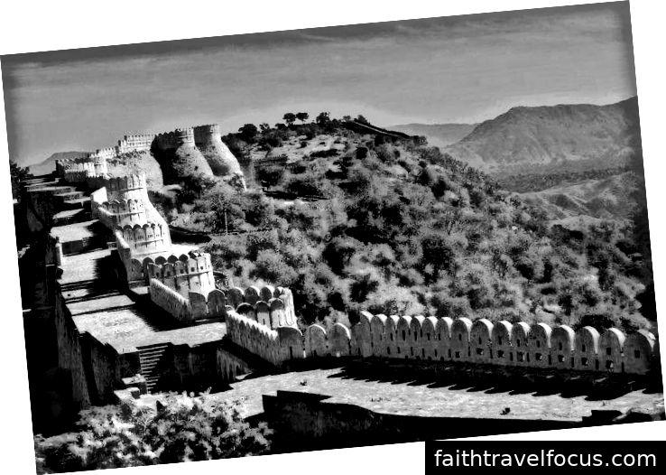 Pháo đài Kumbhalgarh, Kubhalgarh - Rajasthan