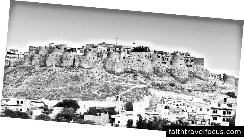 Pháo đài Jaisalmer, Jaisalmer - Rajasthan