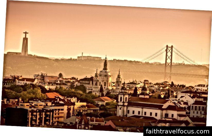 Đường chân trời Lisbon