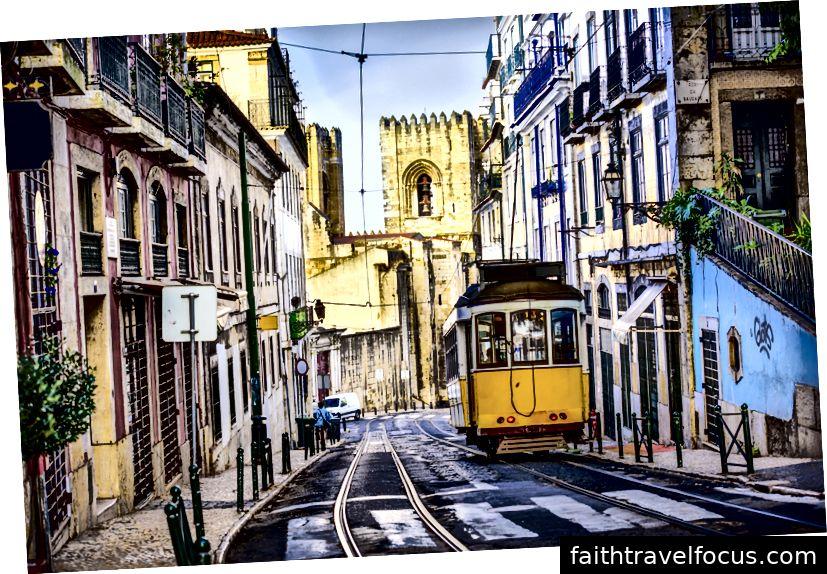 Xe điện tiêu biểu ở Bồ Đào Nha