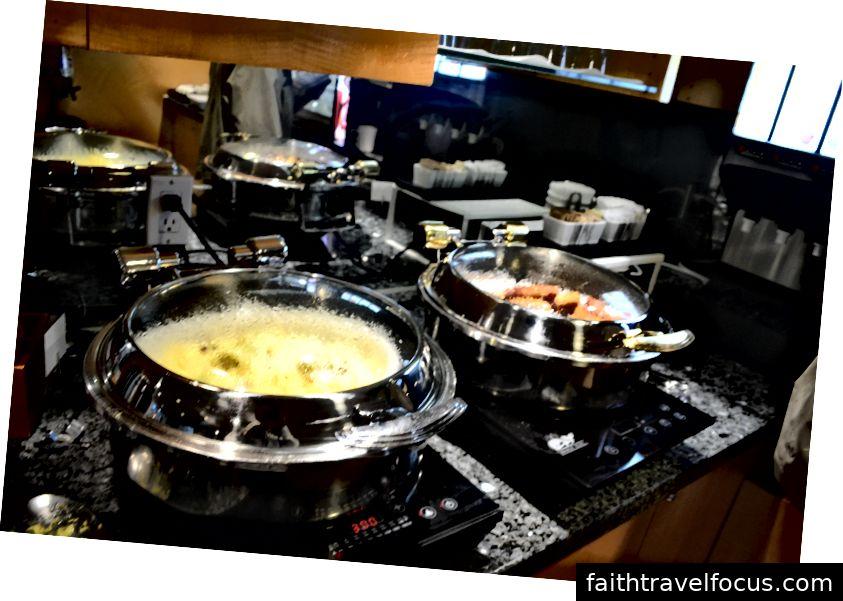 Lựa chọn món ăn nóng