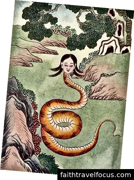 Nu Wa, nữ thần sáng tạo Trung Quốc