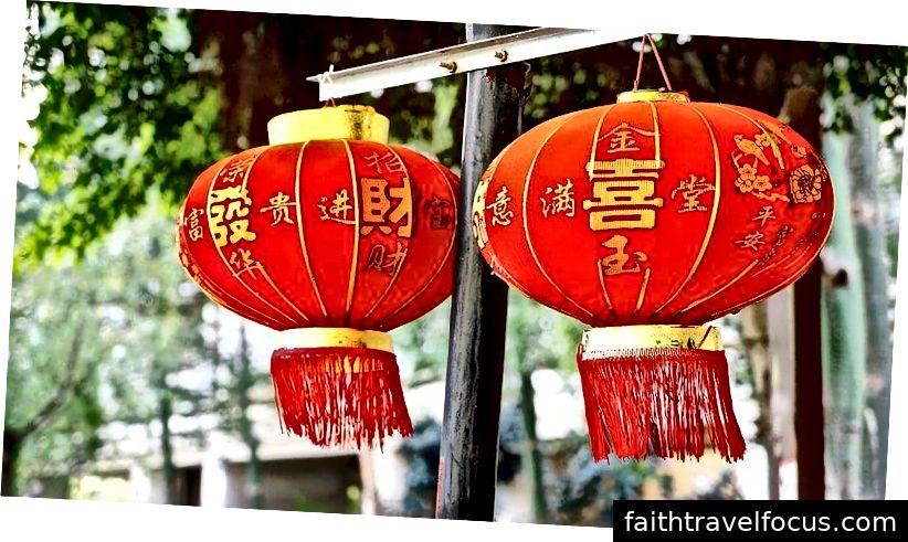 Đèn lồng đỏ, trang trí tiêu biểu nhất của Trung Quốc