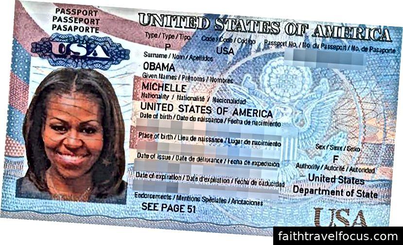 Có lẽ mọi người vẫn sẽ nhận ra cô ấy ngay cả khi cô ấy đang thiếu một bản sao hộ chiếu? Đối với phần còn lại của chúng tôi, thật khôn ngoan khi có một