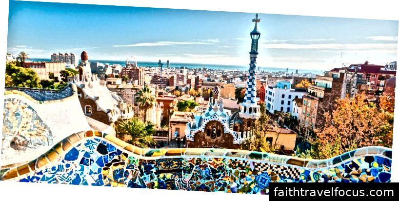 Hình ảnh của Barcelona, Tây Ban Nha trong màu sắc rực rỡ