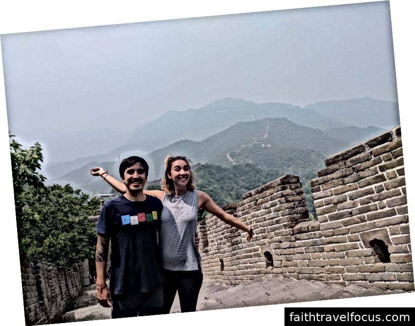 Tại Vạn Lý Trường Thành của Trung Quốc!