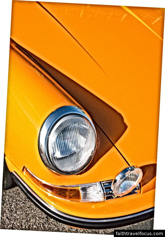 Một trong những chiếc Porsche cổ điển trong chương trình