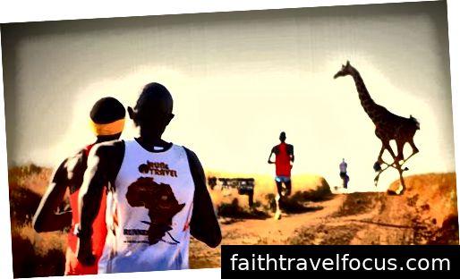 Ảnh tín dụng: Cuộc đua marathon Safaricom