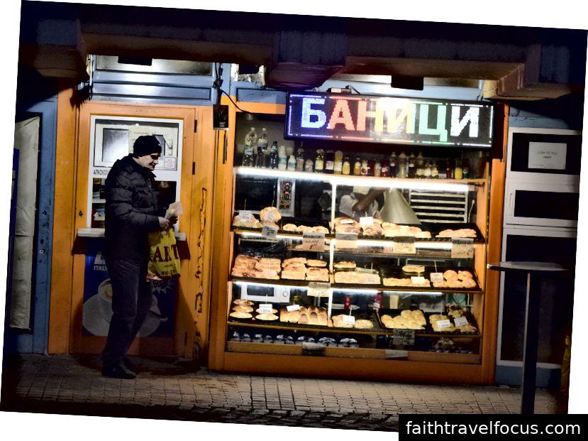 Một tiệm bánh banitsa