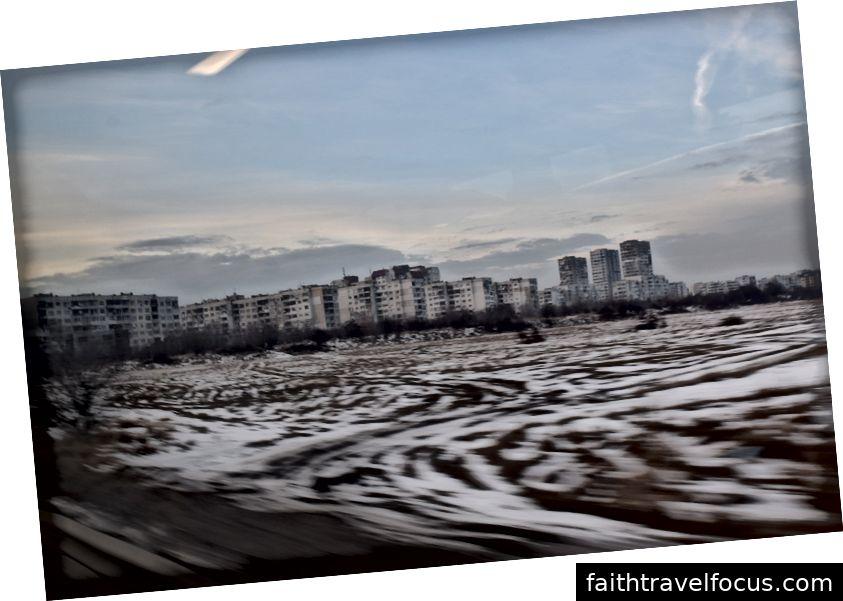 Ngoại ô Plovdiv, ở một trong những người Mladost